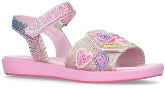 Lelli Kelly Kids Rainbow Hearts Sandals
