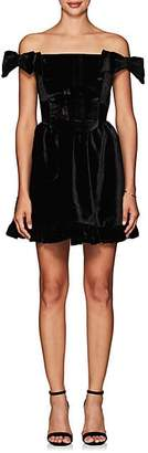 Richmond Vivetta Women's Fit & Flare Minidress - Black Size 42 It