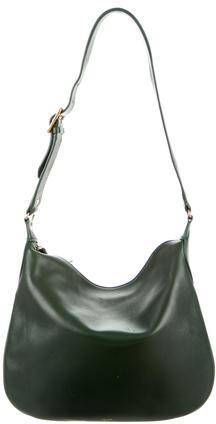 CelineCéline Small Leather Shoulder Bag