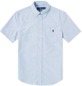 Polo Ralph Lauren Short Sleeve Slim Fit Oxford Shirt