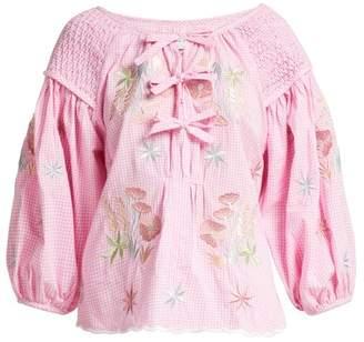 Innika Choo - Oliver Daily Cotton Top - Womens - Pink Print