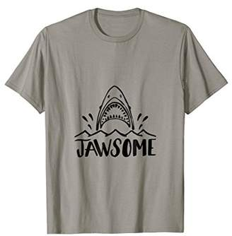 Jawsome Funny Beach T Shirt Vacation for Men Women Boating