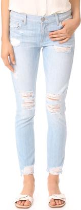 True Religion Cameron Slim Boyfriend Jeans $229 thestylecure.com