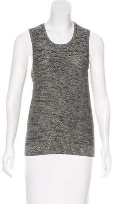 Tracy Reese Wool-Blend Sleeveless Top