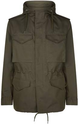 Sandro Hooded Safari Coat