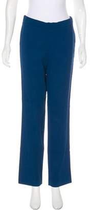 Rochas High-Rise Straight-Leg Pants w/ Tags