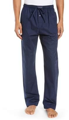 Ralph Lauren Hex Print Woven Pajama Pants
