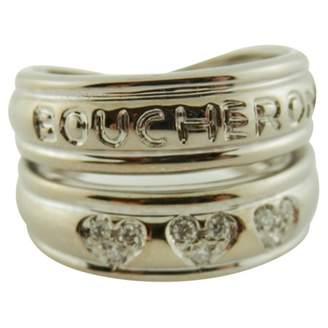 Boucheron White gold ring