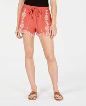 BeBop Juniors' Embroidered Shorts