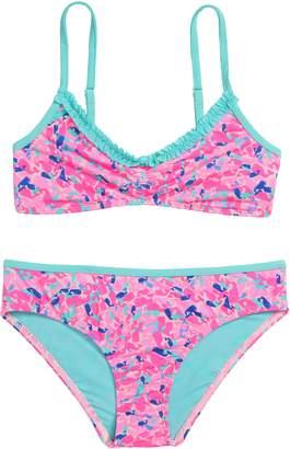 Vineyard Vines Whale Swirl Two-Piece Bikini Swimsuit