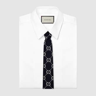 Gucci Children's GG wool silk tie