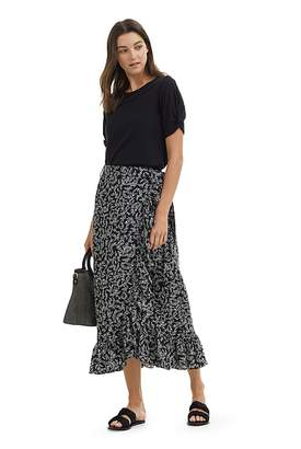 Country Road Ditsy Palm Print Skirt