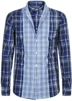 Alexander McQueen Layered Check Shirt