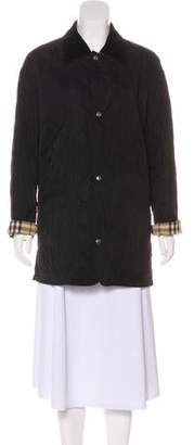 Burberry Collared Long Sleeve Jacket