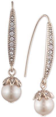 Marchesa Pavé & Imitation Pearl Drop Earrings