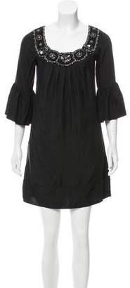 Yoana Baraschi Beaded Silk Dress