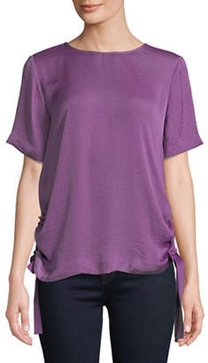 Vince Camuto Side Drawstring Blouse