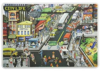 Painless Learning City Life Placemat