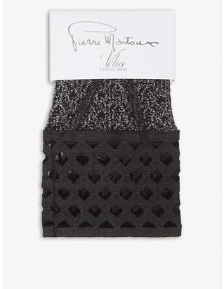 Pierre Mantoux Velia nylon-blend ankle socks