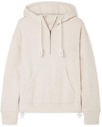 Vince (ヴィンス) - Vince - Cotton-jersey Hooded Top - Beige