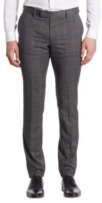 The Kooples Prince of Wales Checkered Wool Pant