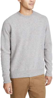 President's Washed Wool Crew Neck Sweater