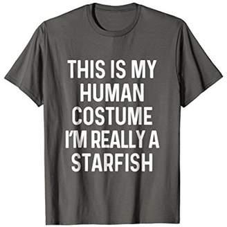 Funny Starfish Costume Shirt Halloween