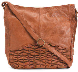 Isa Leather Hobo