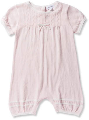 Angel Dear Take Me Home Knit Pointelle Shortall, Size 0-12 Months