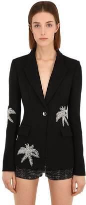 Philipp Plein Embroidered Techno Blazer