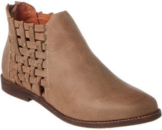 Chocolat Blu Faven Leather Bootie