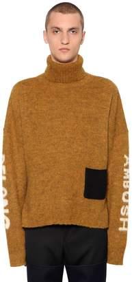 Ambush Wool Knit Jacquard Sweater