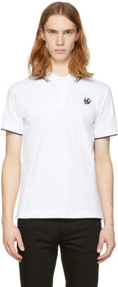 McQ White Swallow Polo