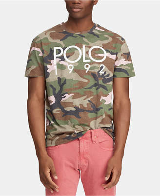 504cead2 Polo Ralph Lauren Men Big & Tall Camo T-Shirt