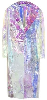 Mansur Gavriel Iridescent coat