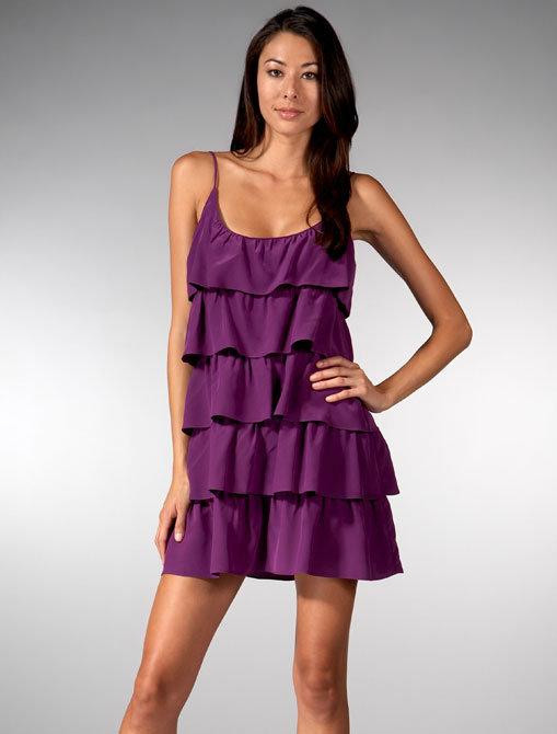 Jay Godfrey Tiered Cami Dress