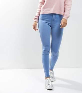 New Look Pale Blue High Waist Super Skinny Hallie Jeans