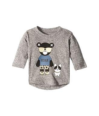 HUXBABY Hux Bulldog Long Sleeve Top (Infant/Toddler)