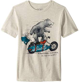 Lucky Brand Kids Short Sleeve Graphic Tee Boy's T Shirt