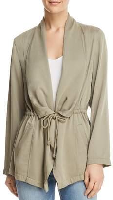 Bagatelle Draped Drawstring Jacket