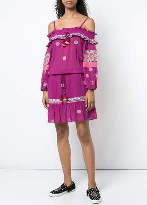 Figue Sofia Dress In Orchid Pink