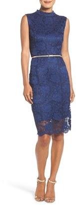 Women's Ellen Tracy Lace Midi Dress $118 thestylecure.com