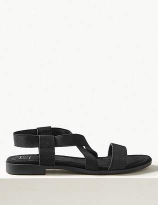 Marks and Spencer Elastic Sandals with Stain Resistant