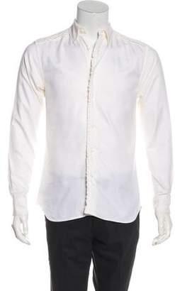 John Galliano Ruffled Button-Up Shirt