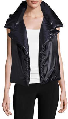 Norma Kamali Sleeping Bag Puffer Vest