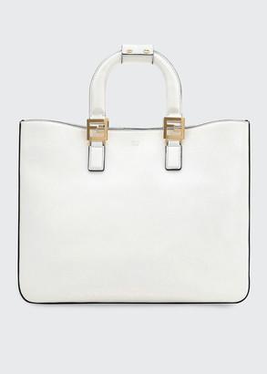 Fendi Glacier Medium Shopping Tote Bag