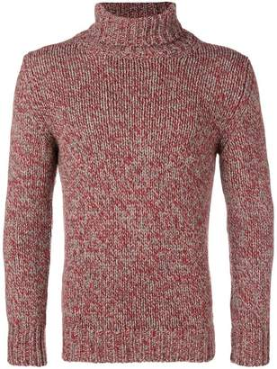 Zanone marled turtleneck sweater