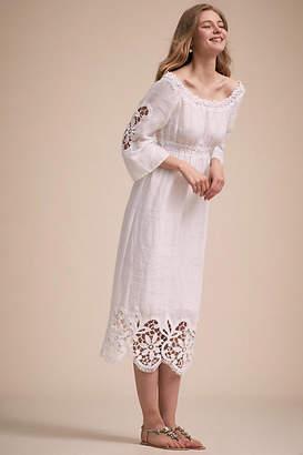 Anthropologie Pemba Wedding Guest Dress