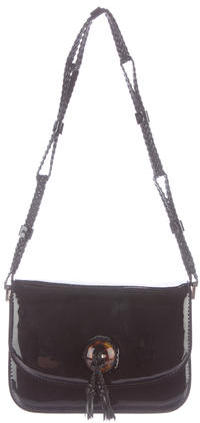 Tom Ford Tom Ford Patent Leather Shoulder Bag