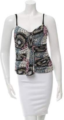 Missoni Printed Sleeveless Top